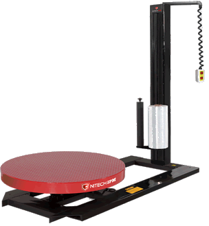 High Profile Fixed Speed Turntable with Pendant Control & Quick-Load Film Dispenser